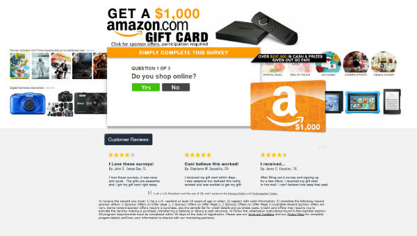Get A $1000 Amazon Gift Card